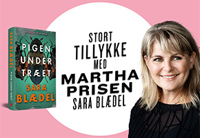 Sara Blædel får Martha Prisen for femte gang